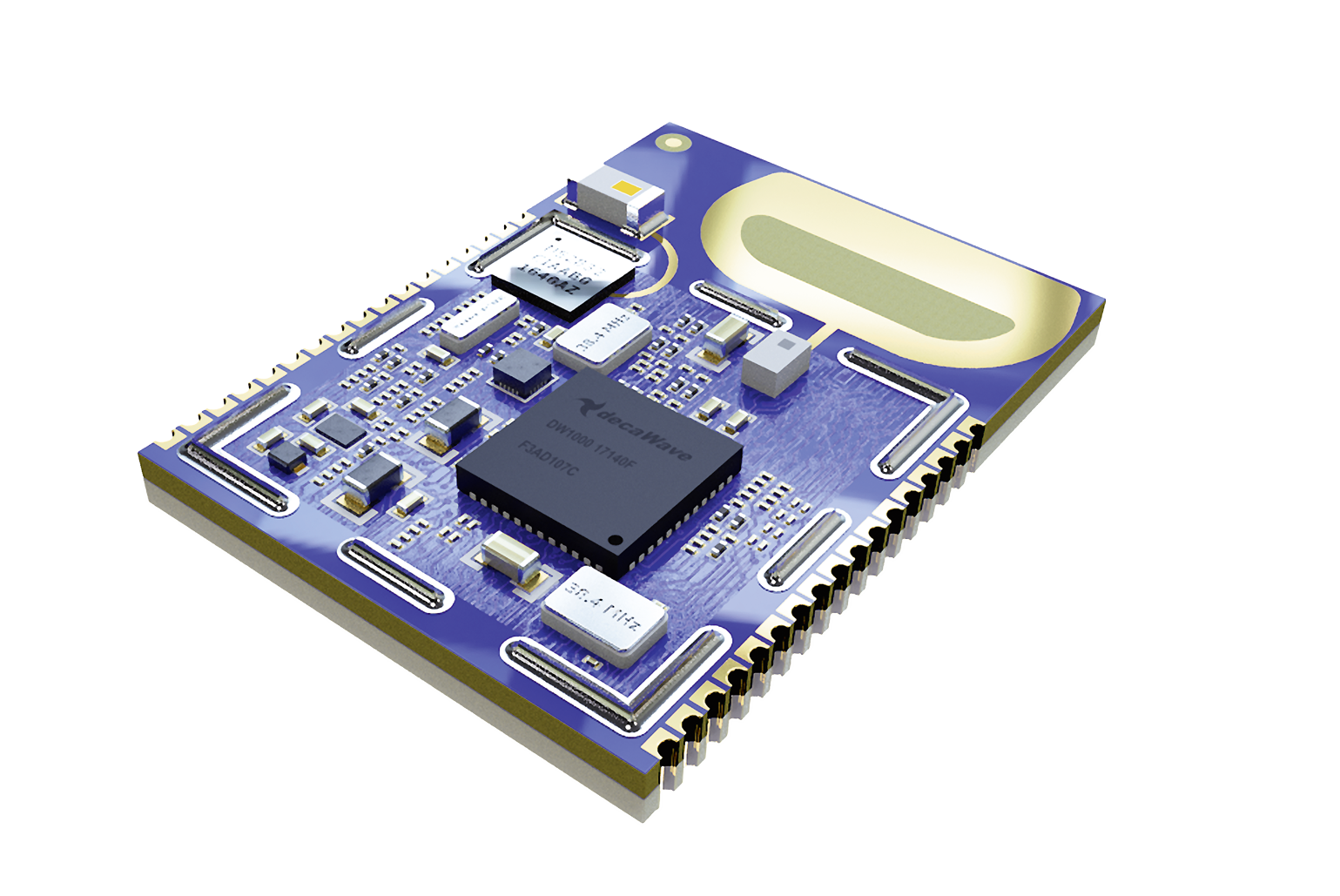 UWB/Bluetooth Low Energy module supports out-of-the-box