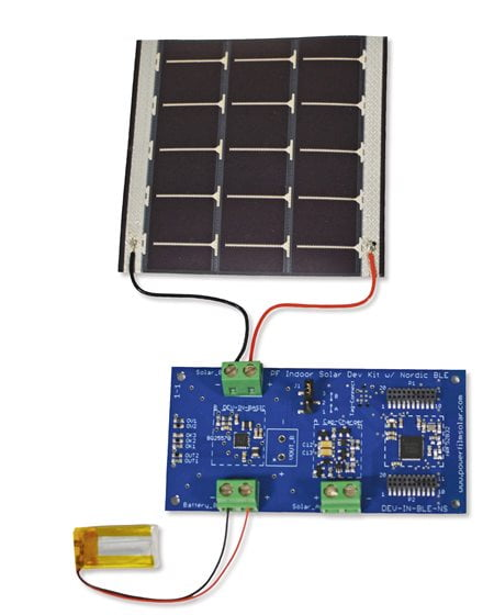 Indoor Solar Development Kit with Nordic BLE
