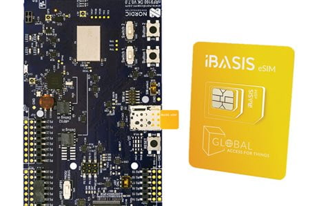 Nordic's nRF9160 Development Kit gets instant and automatic global connectivity via a single eSIM from iBASIS