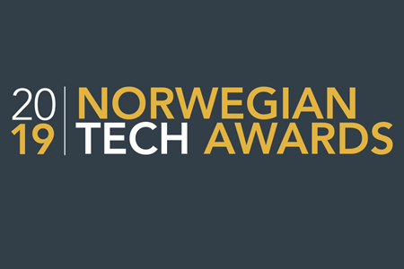 Shortlisted by top Norwegian tech magazine, TU, for one of Norway's most prestigious industry awards