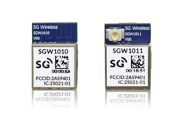 SG Wireless' SGW1010 and SGW1011 modules
