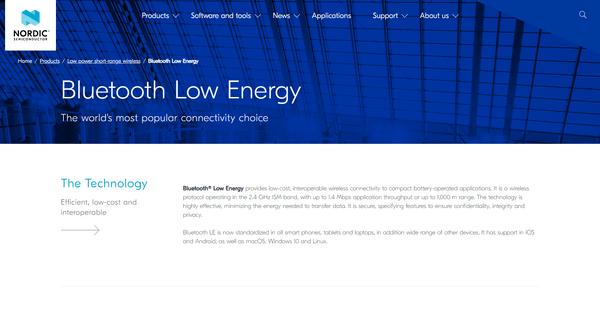 Bluetooth Low Energy Nordicsemi Com