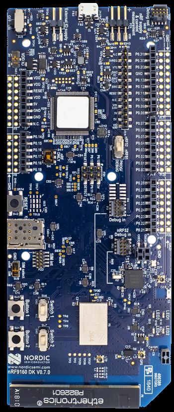 nRF9160 DK
